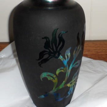 Can You Help Identify Designer of This Vase  - Art Glass