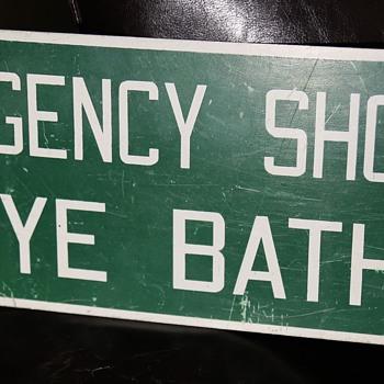 Emergency Shower Eye Bath - Signs