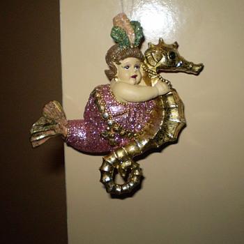 Dame of the Sea Christmas Ornament - Christmas