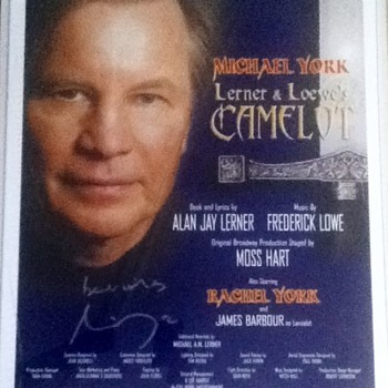 Michael York Autographed Poster - Movies