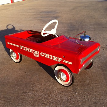 WF Fire Chief - Original - Model Cars