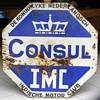 INDISCHE MOTOR CLUB Porcelain Sign