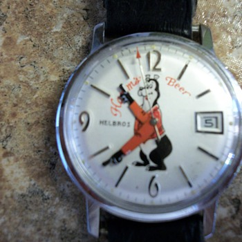 Hamm's Beer Wristwatch