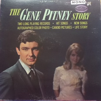 &quot;The Gene Pitney Story&quot; Record Album - Records
