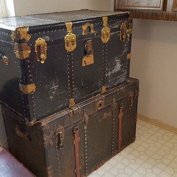 Unknown chests.. possibly brought over from England