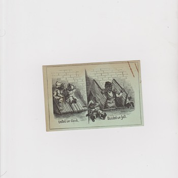 Civil War Era? Trade Card - Advertising