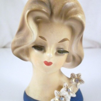Napco 1960's Head Vase