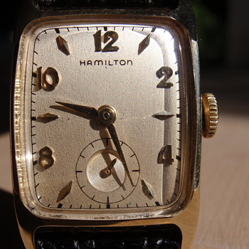Hamilton Cranston 22 Jewel 770 - Wristwatches