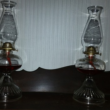 P and A oil lamps