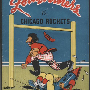 Old Football Programs - Football