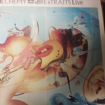 "Dire Straits "" Alchemy "" - Records"