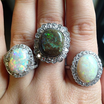 Antique Opals  - Victorian Era
