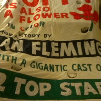 Ian Fleming Banner - Movies
