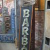Vintage 1970's BAR B.Q. Antique Neon Sign - Tall barbecue
