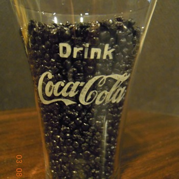 c. 1910 Coca-Cola Flare Glass