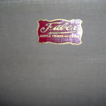 faber utica new york sample trunks & cases