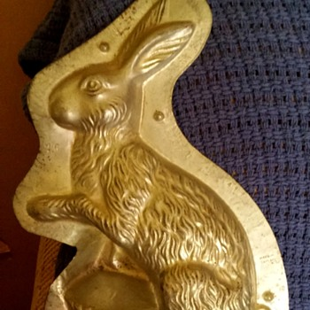 Rabbit mold made in Germany