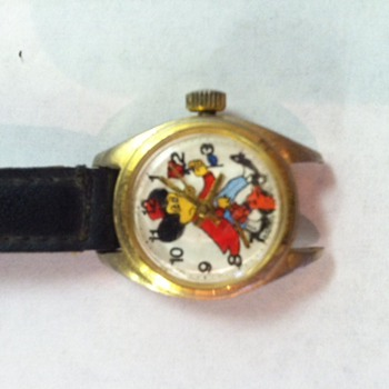 Mickey Mouse with flower and dog? - Wristwatches