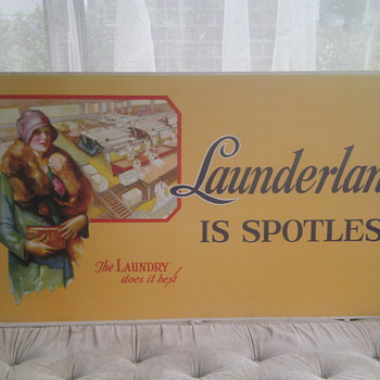 1920&#039;s ? Laundry Lithograph