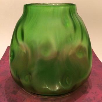 Large Loetz Creta Rusticana Vase