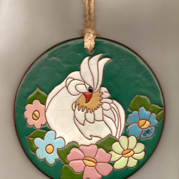 Hand-painted Terracotta Wall Art - Art Pottery