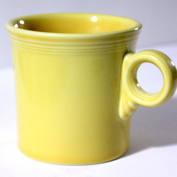 Fiestaware Mug Etching ID - China and Dinnerware