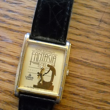 "Disney ""LORUS"", 50th Anniversay of ""Walt Disney's Fantasia"" Watch"
