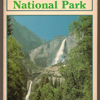 1989 - Yosemite National Park - Book - Books