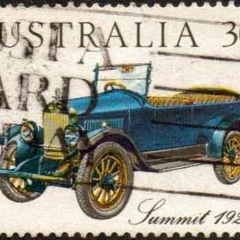 "1984 - Australia ""Vintage Cars"" Postage Stamps - Stamps"