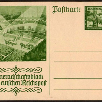 "1941 - German ""Camaraderie"" Postal Card - Postcards"