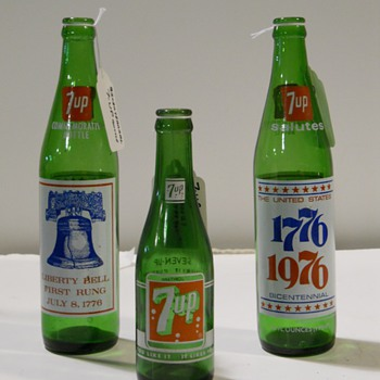 Dr. Pepper, 7up and Nehi - Bottles
