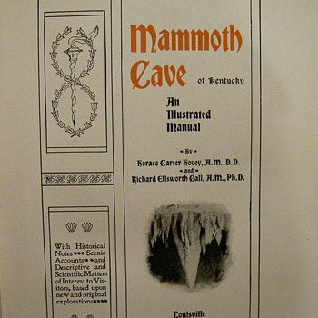 The Mammoth Cave of Kentucky - Books