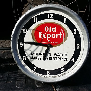 Old Export Clock