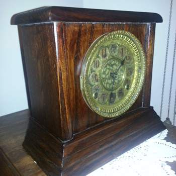 Antique clock late 1800s I think