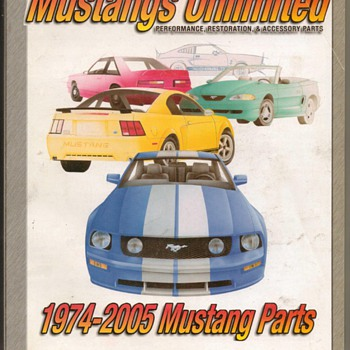 2005 Mustang Parts Catalog