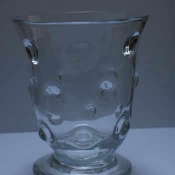 Webb Bullseye Vase - Art Glass