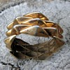 Circa 30's-40's gold-wash bracelet from Mexico
