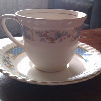 Johnson Bros Cup &amp; Saucer - China and Dinnerware