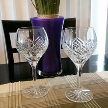 Stemware purchased in Ireland (old)