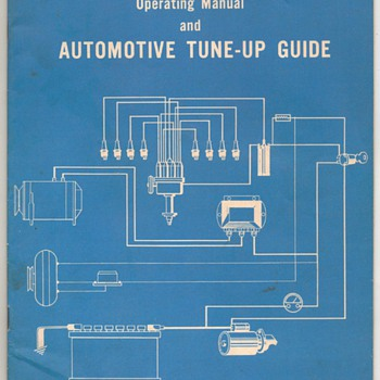 1971 Automotive Tune-up Guide - Paper