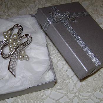 Assorted Silver Tone Trifari Brooches - Costume Jewelry