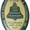 New England Telephone Advertising Mirror