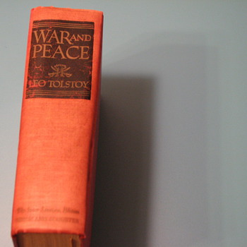 War  and Peace The Inner Sanctum Edition - Books