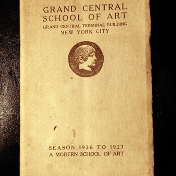 Grand Central School of Art - Brochure/Catalog - 1927