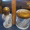 silver vanity set