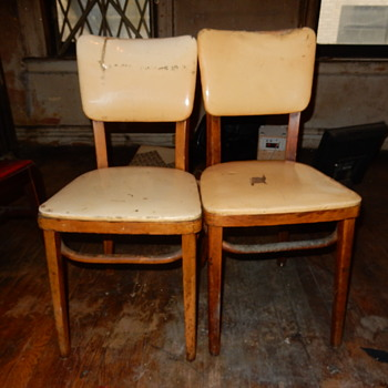 Help Please. Name and Era Of The Chairs? - Furniture