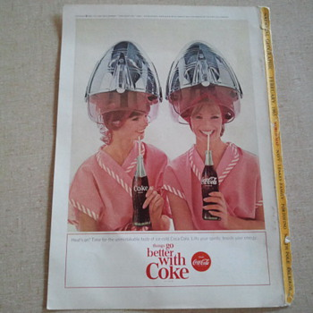 Coca Cola National Geographic 1965 
