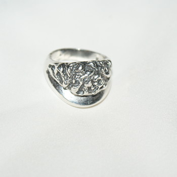 Mateo Mexico Brutalist Sterling Ring - Fine Jewelry