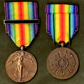 The WWI Victory Medal Series  Belgium - Military and Wartime