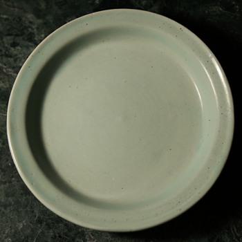 Celadon ? Plate? - Asian